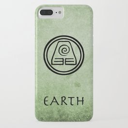 Avatar Last Airbender Elements - Earth iPhone Case