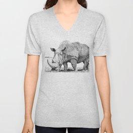 Rhino Unisex V-Neck