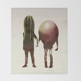 Couple Throw Blanket