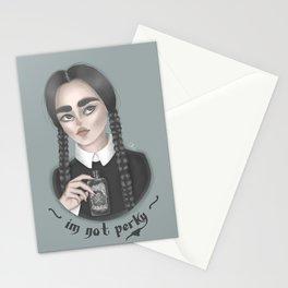 On Wednesdays we wear black! Stationery Cards