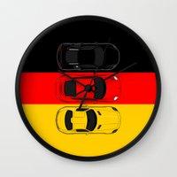 german Wall Clocks featuring German Horsepower by Blayde