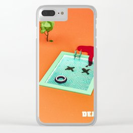 dead pool Clear iPhone Case