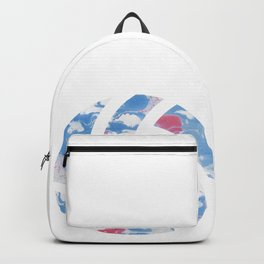 Watercolor volleyball volleyballer gift Backpack