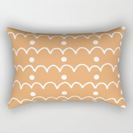 Pattern Design Arches And Dots Rectangular Pillow