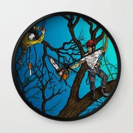 Tree Surgeons Wall Clock