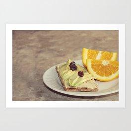 light snack Art Print