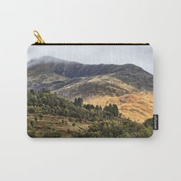 Hills of the Western Highlands, Scotland Carry-All Pouch