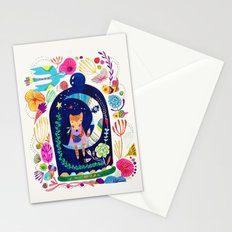 Little fox in Secret place Stationery Cards
