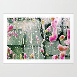 Wash Art Print