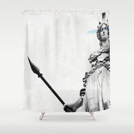 Athena the goddess of wisdom Shower Curtain
