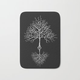 Tree of life meaning black Bath Mat