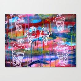 Creamscape Canvas Print