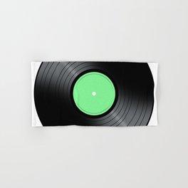 Music Record Hand & Bath Towel