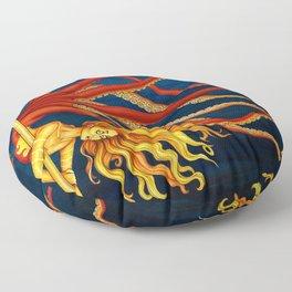 Pole Creatures - Mermaid Floor Pillow