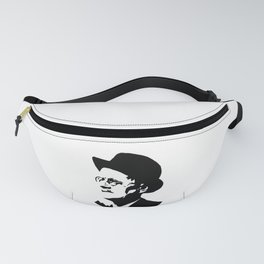 PORTRAIT OF AN IRISH WRITER NAMED JAMES Fanny Pack