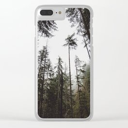 Pacific Northwest Forest Clear iPhone Case