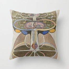 Hilma af Klint Tree of Knowledge No. 1 (1913) Throw Pillow