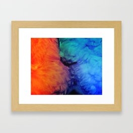 Their Powers Combined Framed Art Print