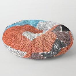 Cubist Mosaic Floor Pillow