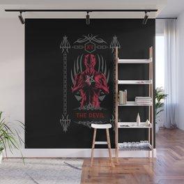 The Devil XV Tarot Card Wall Mural
