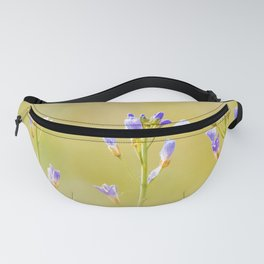 Three lilac flowers Fanny Pack