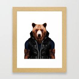 Bolf Bear Framed Art Print