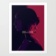 undther the skin - alternative movie poster 02 Art Print