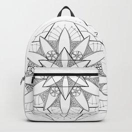 6 Sided Mandala Backpack