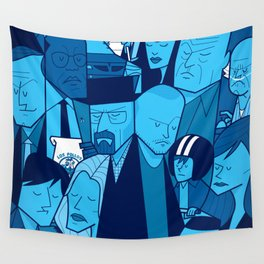 Breaking Bad (blue version) Wall Tapestry