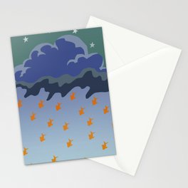 Stars and Fish Stationery Cards