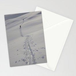 Alaska Denali Backcountry Climbing Stationery Cards