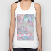 holographic Tank Tops featuring Crystalline by Jevan Strudwick