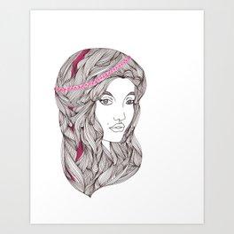 Highlights Art Print