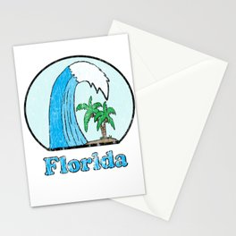 Vintage Florida Logo Stationery Cards