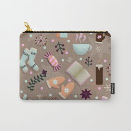 Cozy Danish Winter Hygge Carry-All Pouch