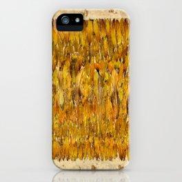 Autumn Rain iPhone Case