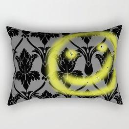 Sherlock smiling wall Rectangular Pillow