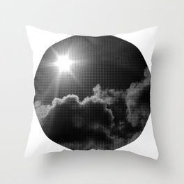in transit Throw Pillow
