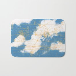 Cloud Chamber Bath Mat