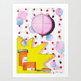 Pop Addy Art Print