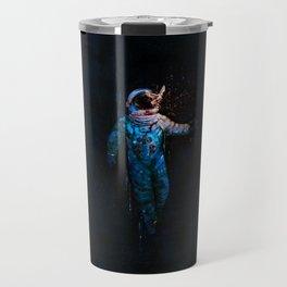 astronaut. breakthrough.  Travel Mug