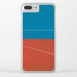 Trapeze Artist 2 Clear iPhone Case