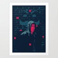 Mr. Robot - series poster Art Print