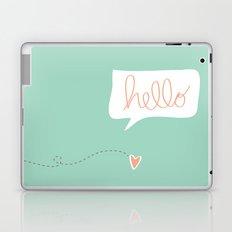 Hello Gorgeous Mint Green Laptop & iPad Skin