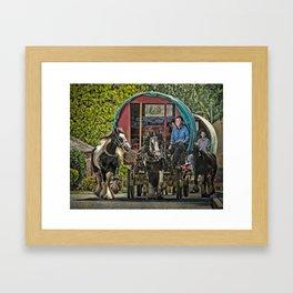 Gypsy Convoy Framed Art Print