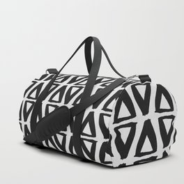 Black and White Abstract II Duffle Bag