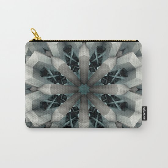 Winter Flakes Carry-All Pouch