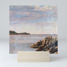Frederic Edwin Church Mount Desert Island Mini Art Print