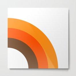 Harvest Rainbow - Right Side Metal Print