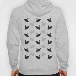 swans motif  Hoody